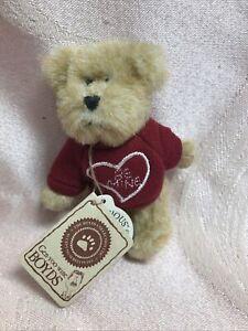 Boyds Bears Mini Message Bear Forever Luv