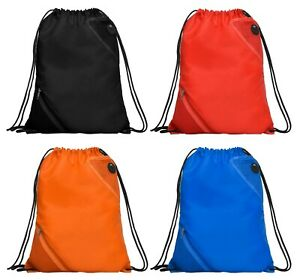 ROLY Unisex Adult Teen Gym Sports PE Travel Backpack Drawstring Bag