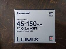 Panasonic Lumix G Vario 45-150mm f/4.0-5.6 Aspherical Mega Lens, H-FS45150