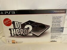 Playstation 3 PS3 DJ Hero 2 Brand New Game Sealed