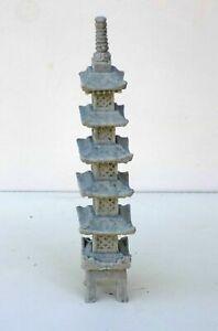 "Asian Bonsai Decoration Japanese GoJuTou 6"" Pagoda Aquarium Ornament 71-6"