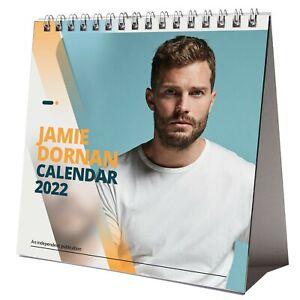 Jamie Dornan 2022 Desktop Calendar NEW Desk Pretty Sexy Hot Man Hunk