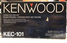 Kenwood. KEC-101 Electronic Crossover **NEW** OLD SCHOOL