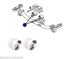 FOR MITSUBISHI DELICA L400 SPACE GEAR REAR GEARBOX MOUNT MOUNTING BUSHES PAIR