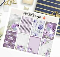 FLORAL BOX STICKER FOR HAPPY PLANNER