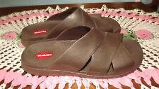 Brown Okabashi Men's Sandals Size XL (11-12) New