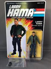 "Larry Hama GI JOE Action Figure Kickstarter BONUS Arashikage Hat Accessory 4"""