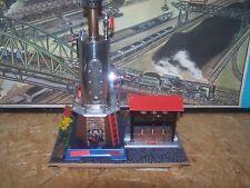 Wilesco D 455 Dampfmaschine Diorama mit Hammerwerk und Transmission