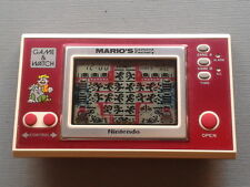 NINTENDO GAME&WATCH WIDESCREEN MARIO´S CEMENT FACTORY ML-102 FILTRO NUEVO VER!!!