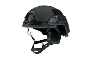 Ballistic helmet - ARCH high cut | NIJ level 3a, V50 & EN397 certified | L&XL