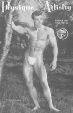 Physique Artistry No.24 Summer 1961 by Lon, British Edition Gay Magazine