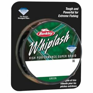 Berkley Whiplash Braid Green