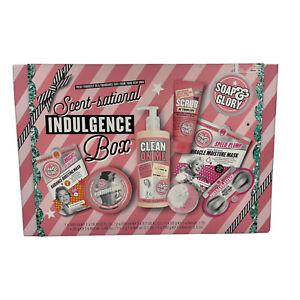 SOAP & GLORY Scent-Sational Indulgence 7-Piece Gift Box Set Brand New