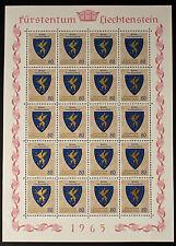 Sello LIECHTENSTEIN Stamp Yvert y Tellier nº401 x20 De Hecho De La Hoja N Y5