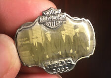 HARLEY DAVIDSON 2003 100th ANNIVERSARY MDA HOG H.O.G Founders Pin Pre Owned