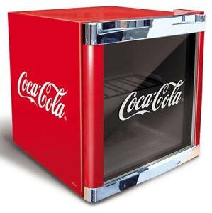 CUBES COOLCUBE Coca Cola Getränkekühlschrank (F, freistehend, Nutzinhalt 48 l, H