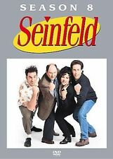 NEW Seinfeld - Season 8 (DVD, 2007, 4-Disc Set) FREE SHIPPING