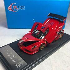 1/43 Scale Meko Fline Ferrari Enzo GT Concept Red wth Gold Wheels Open & Close