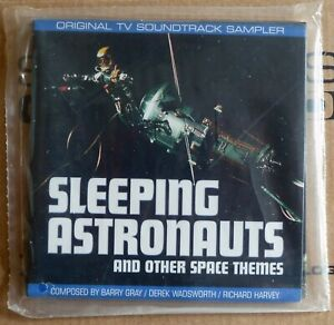 SLEEPING ASTRONAUTS CD Barry Gray soundtrack music Gerry Anderson 1999 Scarlet