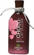Emerald Bay Choco Latta Love Double Bronzer Energize Skin Tanning Lotion - 250ml