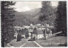 80189 TRENTO MADONNA DI CAMPIGLIO Cartolina FOTOGRAFICA viaggiata 1956