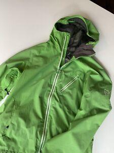 Burton ak cyclic gore tex snowboard jacket Large L Green