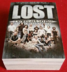 """J J Abrams' """"LOST"""" - REVELATIONS - COMPLETE BASE SET (81 cards) - Inkworks 2006"""