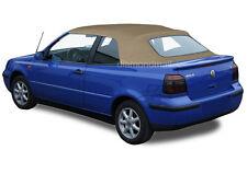 VW Volkswagen Golf Cabrio Cabriolet 1995-01 Convertible Soft Top Tan Stayfast