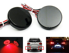 FOR Toyota Voxy Noah Black Smoked Lens LED Bumper Reflector Tail Brake Light kit