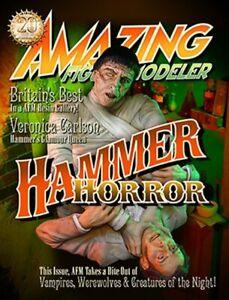 AMAZING FIGURE MODELER #59 Hammer Horror Issue CUSHING + LEE Veronica Carlson!
