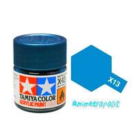 TAMIYA COLOR X-13 Metallic Blue MODEL KIT ACRYLIC PAINT 10ml Free Shipping New