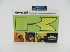 NOS Genuine Kawasaki Dealer Sales Brochure F5 Big Horn