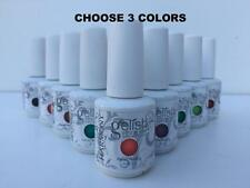 GELISH Harmony soak off GEL Nail Polish COLOR UV/LED set . CHOOSE ANY 3 COLORS