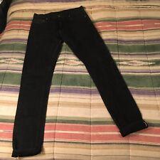 3SIXTEEN St-220x 14oz Japanese Selvedge Black Denim Jeans 31x32