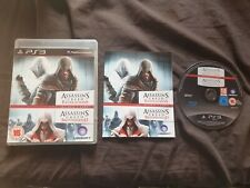ASSASSIN'S CREED BROTHERHOOD + REVELATIONS DOUBLE Sony Playstation 3 Game PS3