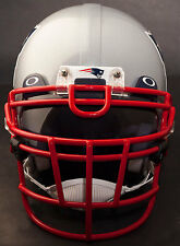 New England Patriots Schutt Rjop-Ub-Dw Football Helmet Facemask (Scarlet)