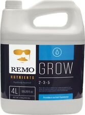 Remo Nutrients Remo Grow 4L Hydro and soil FREE SHIPPING Best Nutrients Ever NEW
