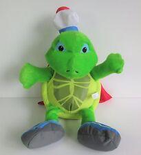 "Wonder Pets Tuck turtle large soft toy plush Fisher Price Nick Jr 18"""