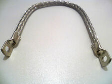 "9"" Classic Car Earth Strap, Battery Lead, Cable, Flexible Tinned Copper Braid"