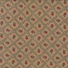 Moda Fabric Primitive Gatherings/Favorites Worn 1077/13-1 YD CUTS