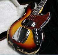 Stock Custom Shop Relic JB Electric Bass Guitar Eged Bass Guitar Sunburst