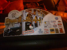 Ancienne Plaque Rallye Club d'Ancienne Voiture : 2cv Club Louhans CITROEN B2