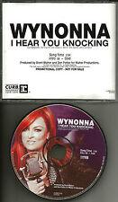 WYNONNA JUDD I Hear You Knocking 2009 PROMO Radio DJ CD single USA MINT