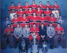 Montreal Canadiens 1957-58 Championship Team Photo