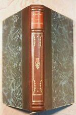 LES MUSARDISES (764ER6.5) EDMOND ROSTAND 1929 EDITION NOUVELLE 1/2 RELIURE CUIR
