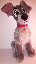 Peluche Plush Pupazzo Lilli e il Vagabondo Cane Dog Biagio 42Cm Disney Store New