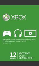 Xbox Live Gold Mitgliedschaft Card 12 MONAT!!! GLOBAL ACTIVATION CODE!