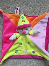 Clown Paradisio Nicotoy Pink Blanket Doudou Comforter Soother Blankie Soft Toy