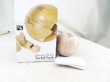 THE PUZZLE BALL ULTIMATE IQ TEST WOODEN PUZZLE GAME
