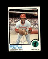 George Foster Hand Signed 1973 Topps Cincinnati Reds Autograph